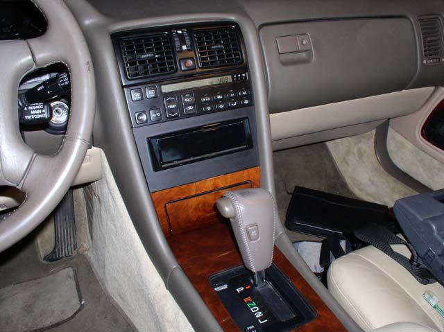 Installing An Aftermarket Stereo For Lexus Ls400 Ls430