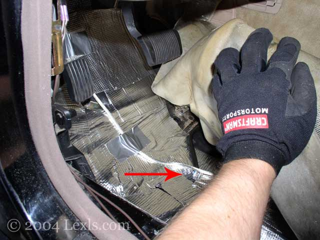 Efi  Replace The Sub Oxygen Sensors For Lexus Ls400 Ls430