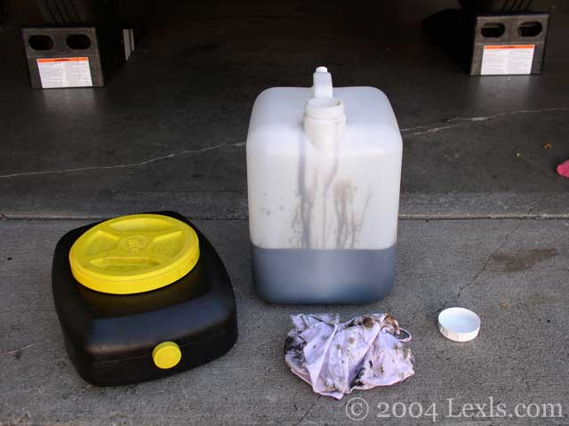 Change The Engine Oil For Lexus Ls400 Ls430 Ls460 1990 94
