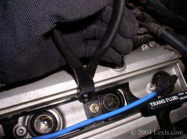 Replace The Spark Plugs  U0026 Ignition Wires For Lexus Ls400