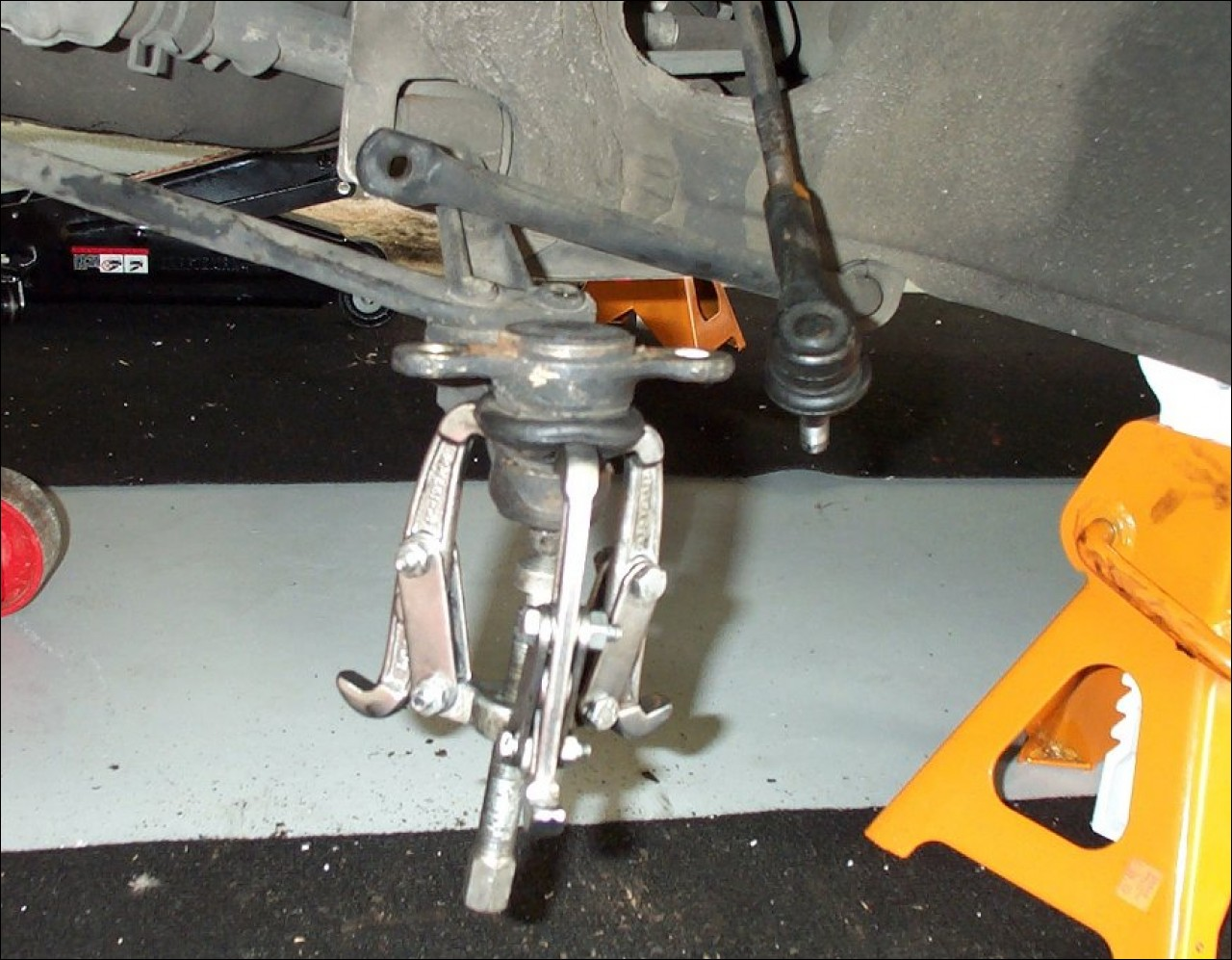 Two Jaw Puller Ball Joint : Ball joint replacement for toyota mr mki aw