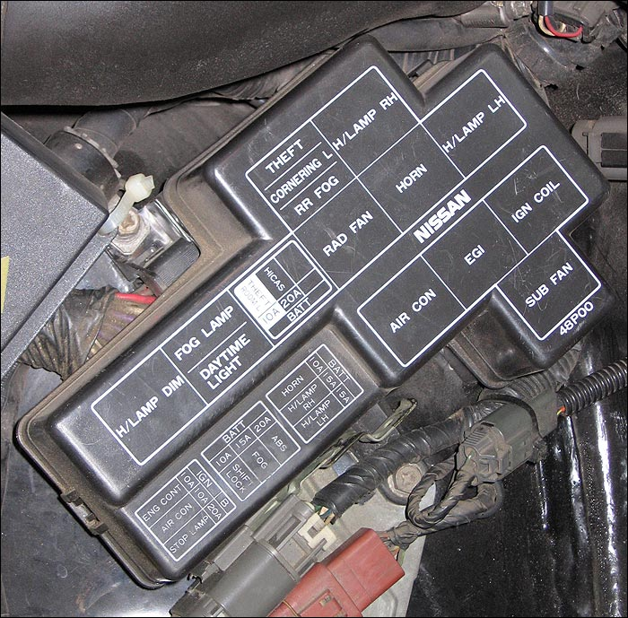 85 nissan 300zx fuse box diagram  85  get free image about